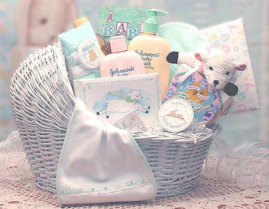 Different Baby Gift Basket Ideas