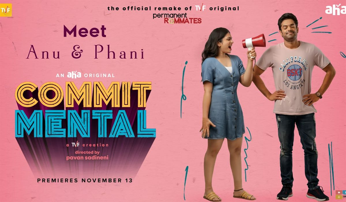 Commit Mental is the remake of India's much-loved web series Permanent Roommates